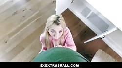 ExxxtraSmall - Flexible Kenzie Reeves Does A Full Split On A Dick