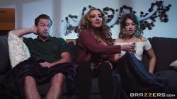 Kristen Scott, Richelle Ryan, Kyle Mason Mind If Stepmom Joins You?