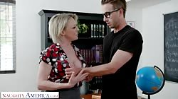 Naughty America - Professor Dee Williams fucks college student
