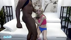 PIPER PERRI VS MANDINGO BBC DESTROYS PETITE BLOND TEEN LIVE on Camsoda