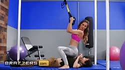 Brazzers - Personal Trainer Cherie Deville Punishes Pervs Cock